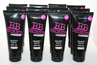 12 x Collection 2000  BB Secrets Beauty Balm | Light | RRP £72 Made In The UK