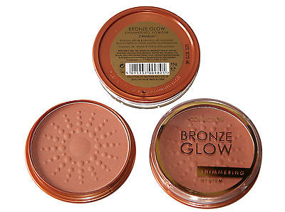 12 x Collection Bronze Glow Shimmering Powder | Medium | Wholesale cosmetics
