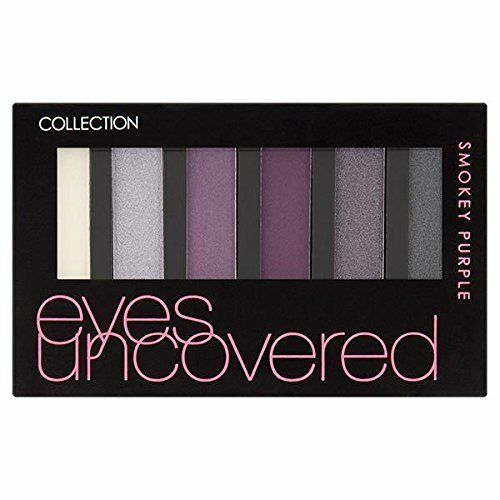 12 x Collection Eyes Uncovered Eyeshadow Palette | Smokey Purple