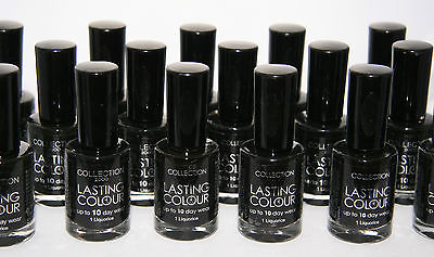 24 x Collection 2000 Black Nail Polish | RRP £72 | Wholesale